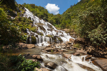 Mae Ya waterfall at Doi Inthanon National Park, Chiangmai, Thail