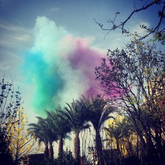 coloful cloud