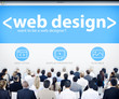 Business People Web Design Seminar Concepts