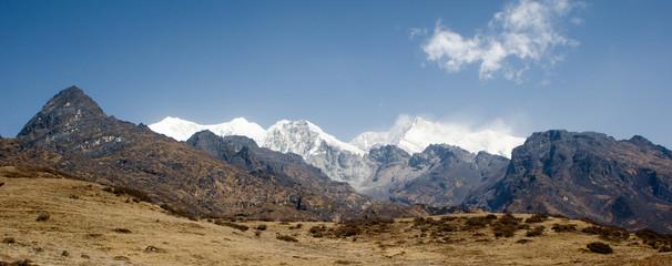 snow capped Kanchenjunga