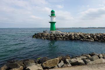 Lighthouse on the sea.