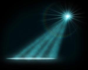 Single blue tage light background. © More Images