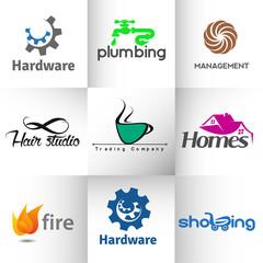 Set of Vector Logo Design