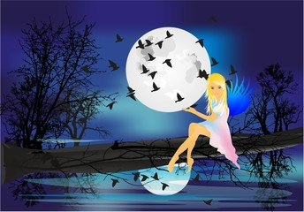 nocna nimfa,
