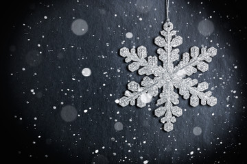 bright Christmas snowflake