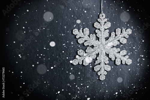 bright Christmas snowflake - 73279665
