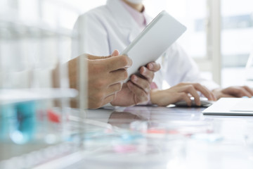 Researchers are using tablet