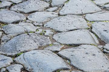 roman stone walkway