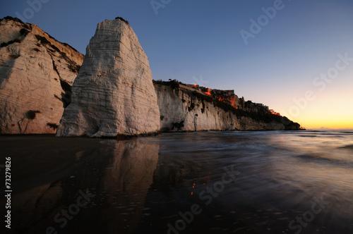canvas print picture Spiaggia di Vieste