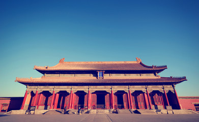 Forbidden City in a Sunny Day