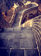 Great Wall of China in Daylight