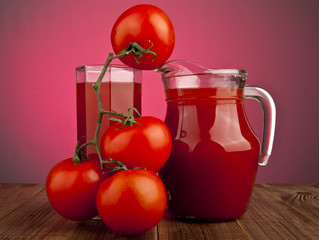 tomatoes and juice
