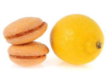 Les macarons au citron