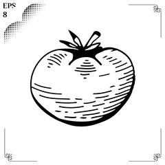 Vegetable organic food tomato 1