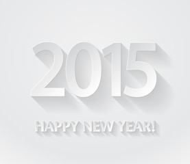 Happy New Year 2015 paper background.