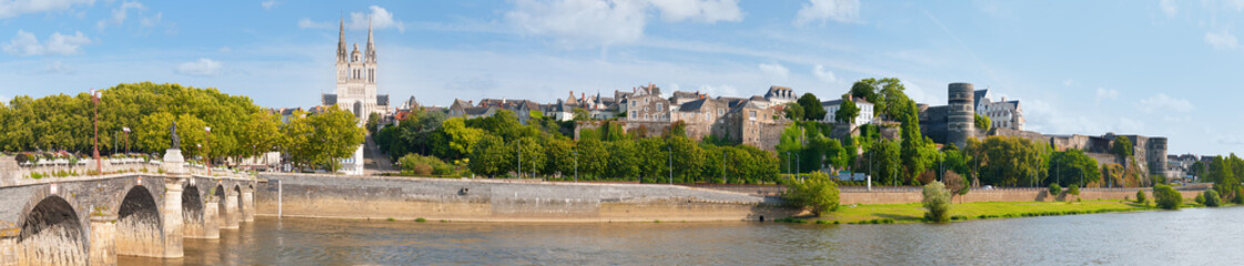 Panorama of Angers