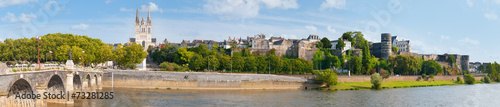 Papiers peints Pays d Europe Panorama of Angers