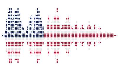 Soundwave USA flag