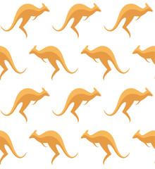 Kangaroo. Pattern