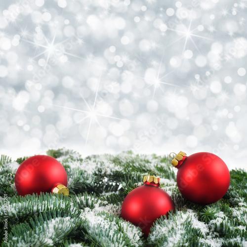 Weihnachtlicher Bokeh-Hintergrund - 73282201