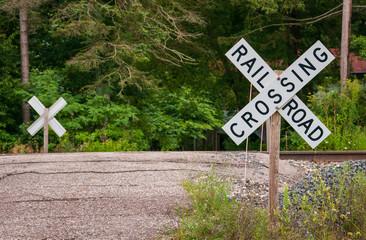 Old Road Rail Crossing