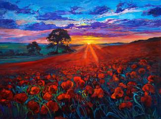 Poppy fields