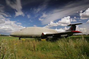 old cold war fighter jet