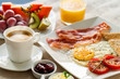 Continental breakfast with fresh fruit. - 73284289