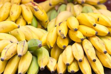 petites bananes, figues, île de la Réunion