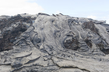 Lava rock formation in Hawaii.