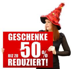 Geschenke bis zu 50% reduziert!