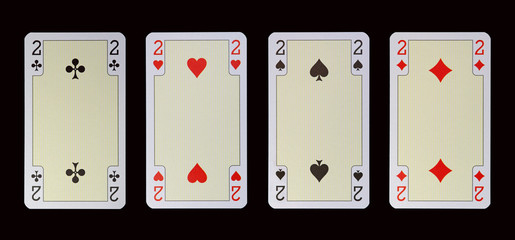Spielkarten der Ladys - ZWEI