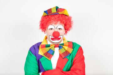 verärgerter clown