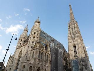 Stephansdom von Wien, Blick von unten