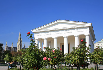 Theseus Temple in Vienna