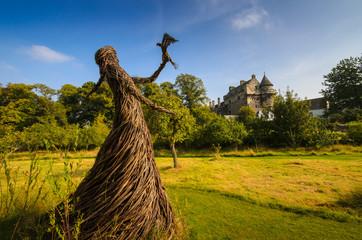 Giardini palazzo di Falkland