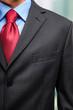 Businessman's necktie