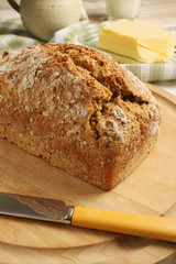 Irish Wheaten Bread a wholemeal soda bread