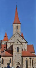 Catholic Basilica St. Vitus in Ellwangen, Germany.
