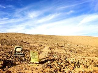 Camping in der Wüste