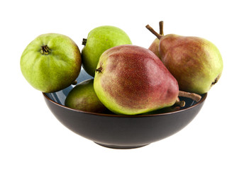 pears in a dish