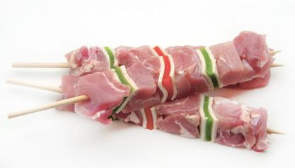 Brocheta de carne