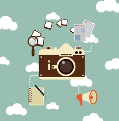 journalist photographs illustration