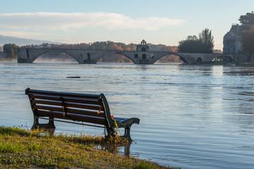 Crue en Avignon