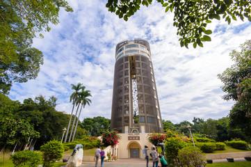 Sun-Shooting Tower in chiayi, taiwan