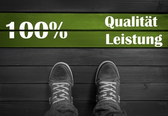 100 % Qualität und Leistung