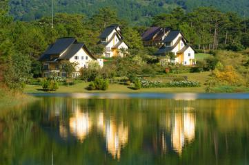 eco holiday resort,  Dalat village