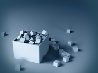 cubes in a box