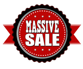 Massive sale badge