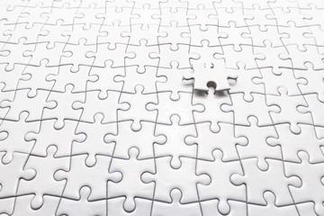 Last White Jigsaw